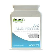 Advance A To Z Multivitamins Minerals Multi Vitamins 60 Tablets Better Bodies