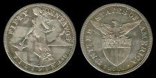 50 Centavos 1918-S US-Philippine Coin 2