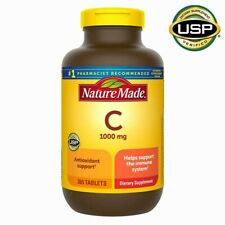 Nature Made Vitamin C 1000 mg 365 Tablets Support Immune System - Brand New