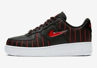NIKE AIR FORCE 1 JEWEL CHICAGO BLACK / RED  / WHITE -  CU6359 001 - UK 8, 8.5, 9