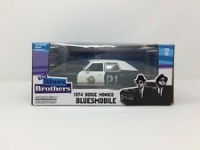 DODGE MONACO 1974 BLUESMOBILE BLUES BROTHERS GREENLIGHT 84011 1:24 NEW DIECAST