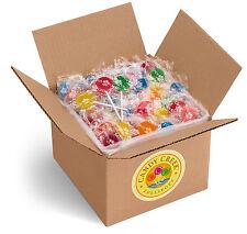 Candy Creek Fruit Lollipops, Bulk Suckers 5lb, 10 Fruit flavors, about 300