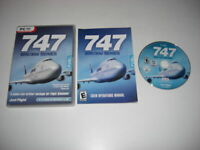 747 200/300 SERIES Pc DVD Rom Add-On Flight Simulator Sim 2004 & X FS2004 FSX