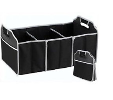 Collapsible Folding Heavy Duty Shopping Tidy Storage 2-in-1 Car Boot Organiser