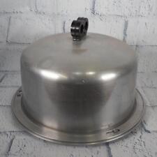 Vintage Aluminum Regal Carry-All Cake-Serv w Locking Lid Cake