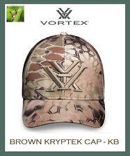 VORTEX OPTICS BROWN KRYPTEK HAT CAP - BROWN KRYPTEK CAMO - ADJ - KB
