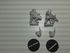 WARHAMMER 40K Empire KASRKIN WITH ASSAULT WEAPONS  metal OOP