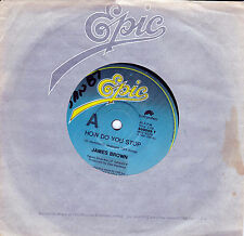 JAMES BROWN How Do You Stop / House Of Rock 45