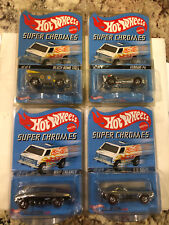 2004 Hot Wheels RLC / SUPER CHROMES (4) Car Set