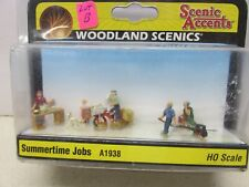 Woodland Scenics # A1938 ~ Scenic Accents - Summertime Jobs ~Lot B ~Ho Scale