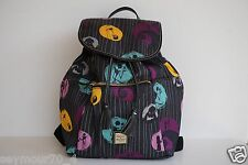 NWT Disney Dooney & Bourke Jack Skellington Nightmare before Christmas Backpack
