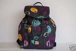 NWT Disney Dooney & Bourke Jack Skellington Nightmare before Christmas Backpack
