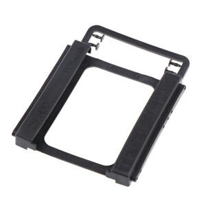 """2.5"""" to 3.5"""" Adapter Bracket SSD HDD Notebook Mounting Hard Drive Disk Hol W4Eng"""