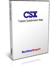 B&O now Toledo Sub: Toledo to Cincinnati - PDF on CD - RailfanDepot