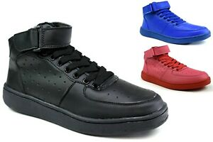 LADIES NEW FASHION- SMART LACE UP  HIGH TOP FLAT TRAINERS SHOES UK SIZE 3-8