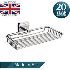 Bathroom Shower Caddy StainlessSteel Wire Basket Shelf Tray Soap Sponge Toiletry