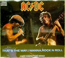 AC/DC 'THAT'S THE WAY I WANNA ROCK N ROLL' 4-TRACK MINI CD SINGLE