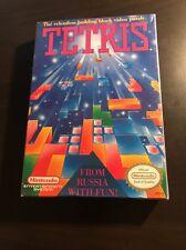 Tetris -- Factory Sealed in Box W/ Hangtab (Nintendo Entertainment System, 1989)