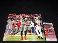 JEROME BAKER OHIO STATE BUCKEYES SIGNED 8X10 PHOTO JSA WITNESS COA WPP136485
