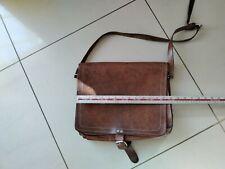 Vintage Swiss unusal Bag Leather
