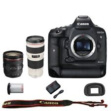 Canon EOS 1DX mark II DSLR Camera Body EF 24-70mm f/4L IS USM 70-200mm f/4L USM