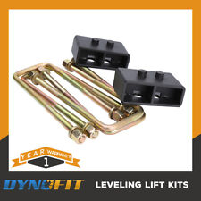2'' F150 Leveling Kit Rear Lift Leaf Spring 2WD/4WD Ford Block U Bolts 04-18