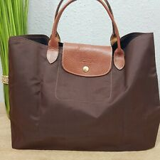 Longchamp Le Pliage Cabas Shopper in braun/choclate