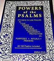 Anna Riva Powers of the Psalms Anna Riva Popular Book Psalms 150 Included