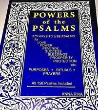 Anna Riva - POWERS OF THE PSALMS - ANNA RIVA's Popular Book - POWER PSALM