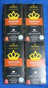 40 ct Gevalia Nespresso Compatible Capsules Luminous Espresso Pods 6/21