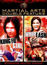 Kung Fu Girl/Whiplash (DVD, 2014, 2-Disc Set)