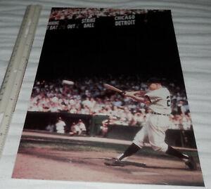 1961 Norm Cash Detroit Tigers RARE photo Tiger Stadium from orig. slide negative