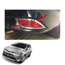 For Toyota Vios Belta Yaris Sedan 13 16 17 Rear Tail Reflector Cover Chrome Trim