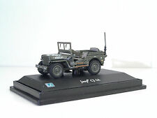 CARARAMA Jeep Willys CJ-2A - Metal Scala 1:72