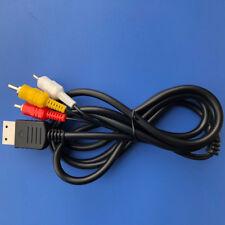 1.8m RCA AV A/V Cable for Sega Dreamcast Stereo Composite Audio Video TV Adapter