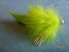 Steelhead Salmon Trout 1/8oz  Chartreuse. Twitching Jig