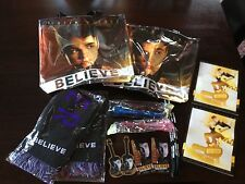 Justin Bieber BELIEVE All Around the World Tour Concert VIP Souvenir Package