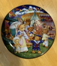 """Franklin Mint teddy bear limited edition plate """"Fair""""Excellent Condition!"""
