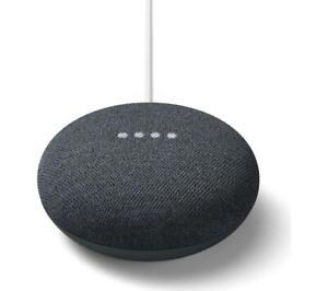 Google Home Mini Hands-Free Voice Commands Assistant Smart Speaker - Charcoal