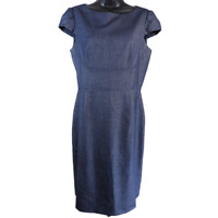 Antonio Melani Denim Blue Cap Sleeve Dress Women's Size 6