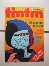 TINTIN L HEBDOPTIMISTE  n° 5  / AVEC CARTES + JEUX