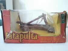 """VINTAGE ROMAN CATAPULT TIMPO MODEL FROM ARGENTINA by """"EPOPEYA"""" TOY SOLDIER 60's"""