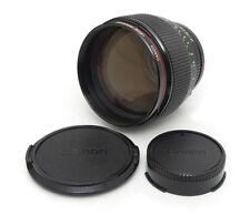 Canon FD 85mm F1.2 L Lens