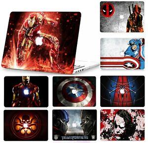 "Super Hero Hard Case Cover Skin Set Macbook Pro 13/15"" Air 11/13"" M1 Touch Bar"