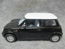 Kinsmart 1:28 Scale Diecast Mini Cooper Pull Back Friction Toy Car BLACK