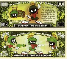 Marvin the Martian - Looney Tunes Cartoon Character Million Dollar Novelty Money
