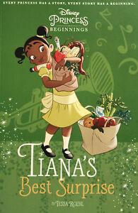Disney Princess Tiana's Best Surprise Paperback Children's Book