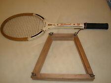Vintage Wood tennis racquet Wilson Jack Kramer Valiant Speed Flex Fibre Face