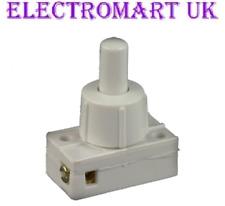 Mini Miniature 2a 2 Amp on off Mains 240v Push Button Press Switch Lamp Light