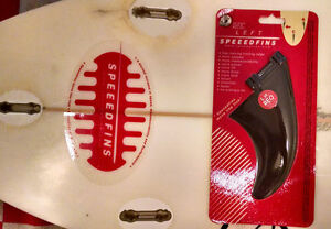 SPEEEDFINS SF-0003F Surfboard FibreGlass-Nylon Fin Left